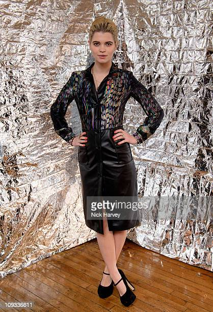 Pixie Geldof attends a party during LFW celebrating Alexander Wang's 'Love In' as well as the Androgyny issue of the Conde Nast title LOVE at Liberty...