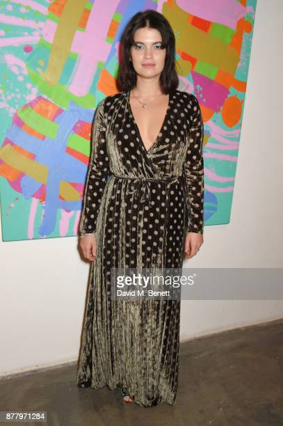 Pixie Geldof attends an intimate dinner hosted by Henry Holland and Andrew Nugent to celebrate the House of Holland Resort 18 collection and Bird In...