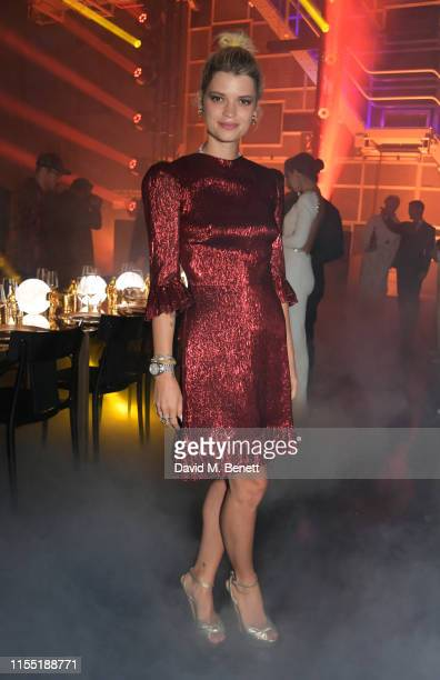 Pixie Geldof attends an OMEGA dinner celebrating the 50th anniversary of the Moon Landing at Television Centre on July 11, 2019 in London, England.
