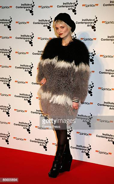Pixie Geldof attends Figures of Speech: ICA Annual Gala at The Brewery on March 26, 2009 in London, England.