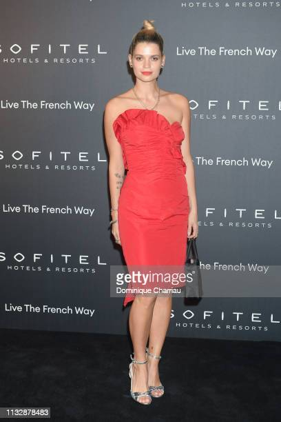 Pixie Geldof attends La Nuit by Sofitel Party with CR Fashion Book at Pavillon Cambon on February 28 2019 in Paris France