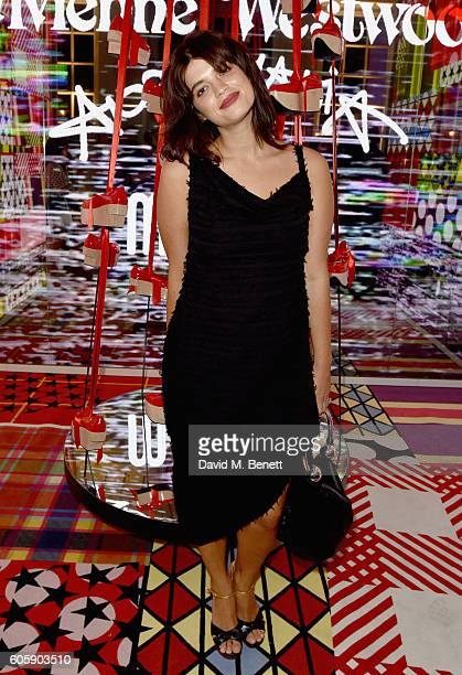Pixie Geldof attends Melissa X Vivienne Westwood Anglomania Ride The Rocking Horse at Galeria Melissa on September 15 2016 in London United Kingdom