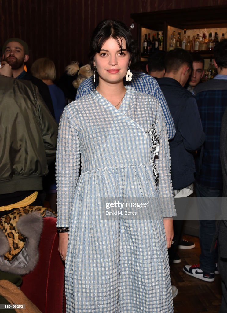 Pixie Geldof attends The Academician's Room Christmas Drinks at the Royal Academy of Arts on December 5, 2017 in London, England.