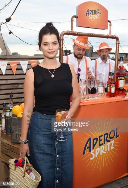 Pixie Geldof attends the Aperol Spritz Social on July 13 2017 in London England