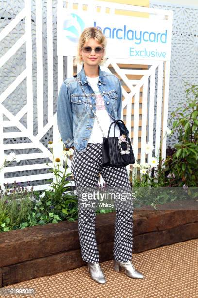 Pixie Geldof attends the Barclaycard Exclusive Area at Barclaycard Presents British Summer Time Hyde Park at Hyde Park on July 14 2019 in London...