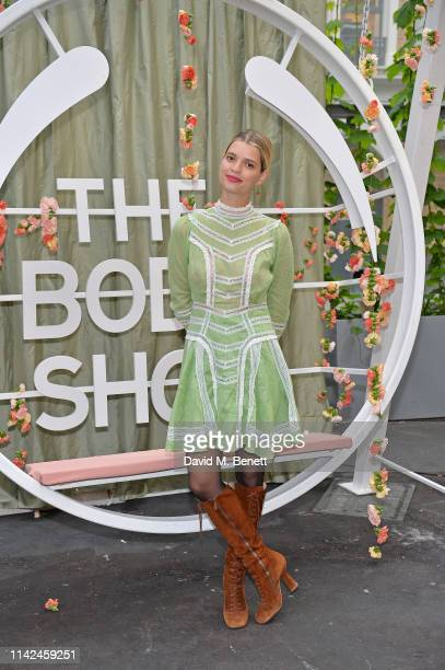 Pixie Geldof attends The Body Shop: Plastics for Change Dinner, hosted by Pixie Geldof at Borough Market on May 9, 2019 in London, England.