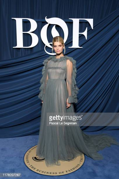 Pixie Geldof attends the #BoF500 gala during Paris Fashion Week Spring/Summer 2020 at Hotel de Ville on September 30 2019 in Paris France
