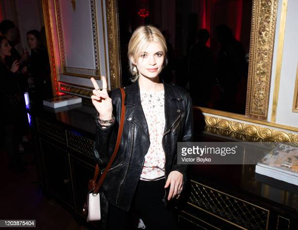 Pixie Geldof attends the Boucheron Party as part of the Paris Fashion Week Womenswear Fall/Winter 2020/2021 on February 27, 2020 in Paris, France.