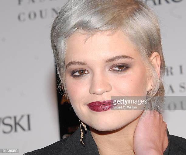 Pixie Geldof attends the British Fashion Awards at Royal Courts of Justice Strand on December 9 2009 in London England