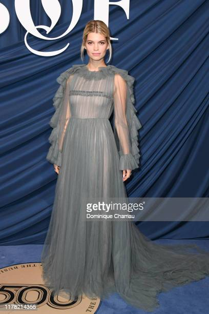Pixie Geldof attends The Business Of Fashion Celebrates The #BoF500 2019 at Hotel de Ville on September 30, 2019 in Paris, France.