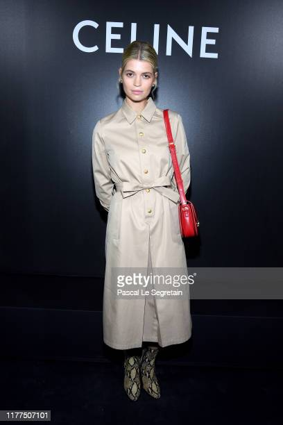 Pixie Geldof attends the Celine Womenswear Spring/Summer 2020 show as part of Paris Fashion Week on September 27 2019 in Paris France