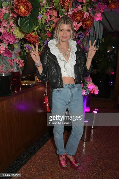 Pixie Geldof attends the Elite London 10 year anniversary party at Ella Canta in association with Maestro Dobel Tequila on May 30, 2019 in London,...