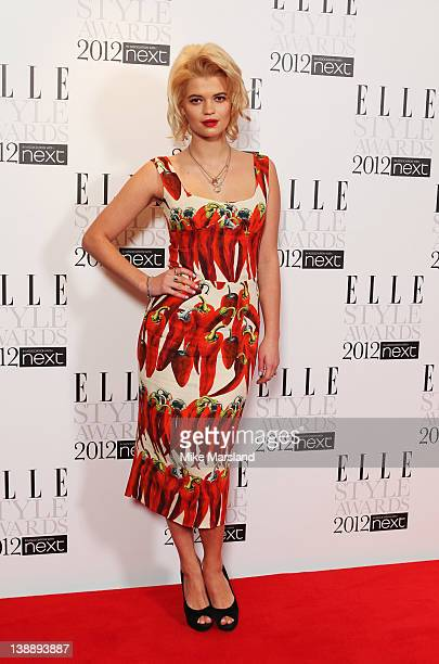 Pixie Geldof attends the ELLE Style Awards 2012 at The Savoy Hotel on February 13 2012 in London England