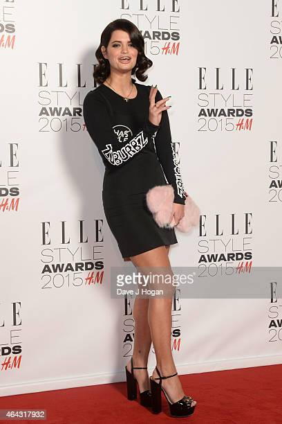 Pixie Geldof attends the Elle Style Awards 2015 at Sky Garden @ The Walkie Talkie Tower on February 24 2015 in London England
