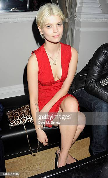 c886d58d3bff Pixie Geldof attends the Esquire Mr Porter and Jimmy Choo party during  London Collections Men at