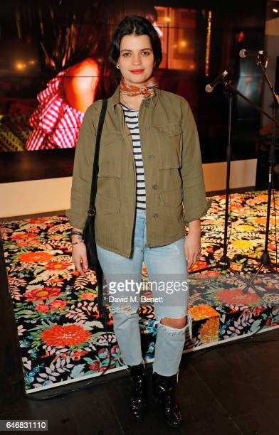 Pixie Geldof attends the launch of House Of Holland x Habitat at Habitat on March 1 2017 in London England