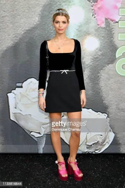 Pixie Geldof attends the Miu Miu show as part of the Paris Fashion Week Womenswear Fall/Winter 2019/2020 on March 05 2019 in Paris France