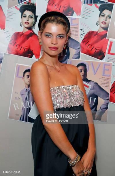 Pixie Geldof attends the #MOVINGLOVE screening hosted by Derek Blasberg Katie Grand at Screen on the Green on July 15 2019 in London England