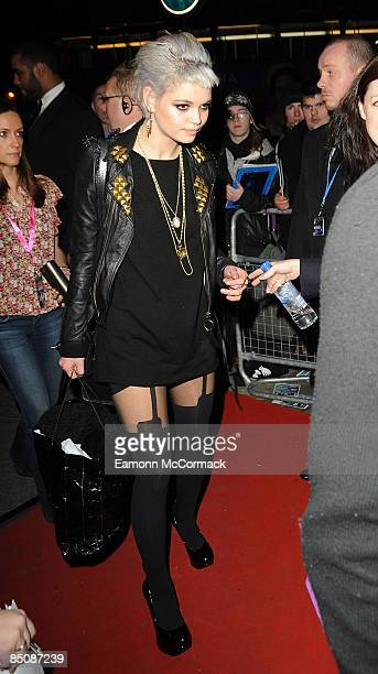 Pixie Geldof attends the Shockwaves NME Awards at O2 Academy Brixton on February 25 2009 in London England