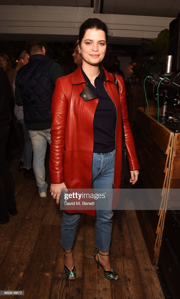 Pixie Geldof attends the Taylor Hill x Joe's Jeans party celebrating the Spring/Summer 2017 campaign at Shoreditch House on March 9, 2017 in London, England.