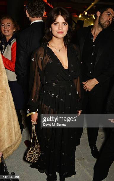 Pixie Geldof attends the Universal Music BRIT Awards AfterParty 2016 in collaboration with Soho House and BACARDI on February 24 2016 in London...