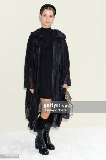Pixie Geldof attends the Valentino show as part of the Paris Fashion Week Womenswear Fall/Winter 2019/2020 on March 03 2019 in Paris France