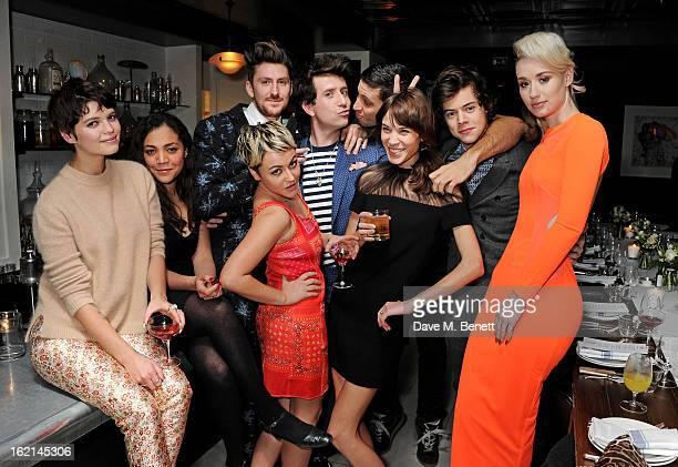 Pixie Geldof Miquita Oliver Henry Holland Jaime Winstone Nick Grimshaw Example Alexa Chung Harry Styles and Iggy Azalea attend as Nick Grimshaw hosts...