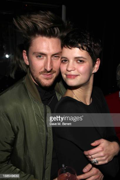 Pixie Geldof of Violet and Henry Holland at Mortons club on December 18 2012 in London England