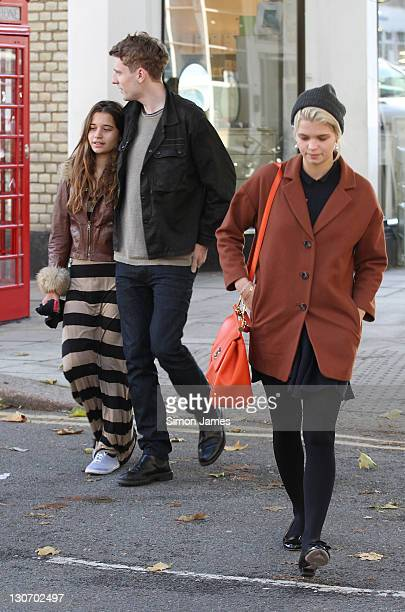 Pixie Geldof seen out and about in Primrose Hill on October 28 2011 in London England