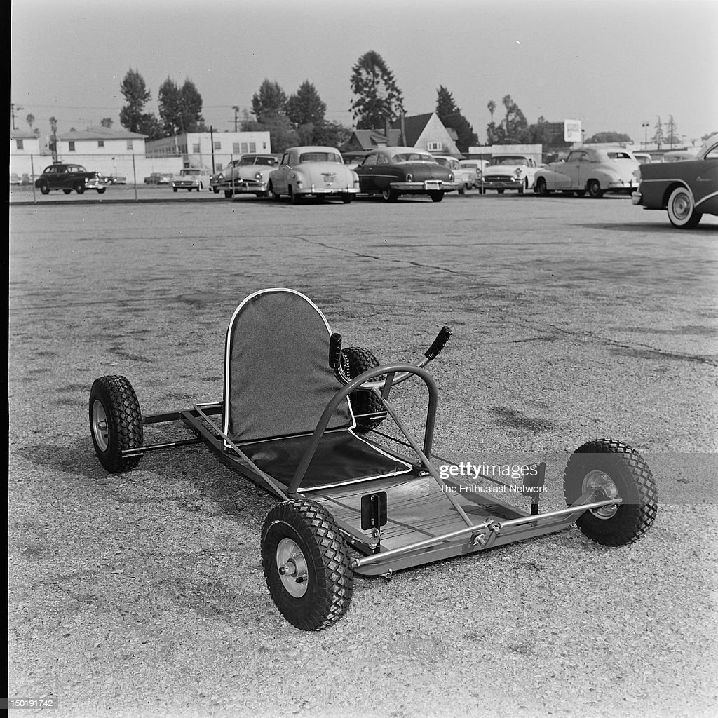 Pixie Go-Kart  Simple tube-frame chassis with single engine