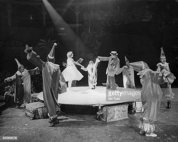 A Pixie Judy Troupe production of the American musical 'The Littlest Clown at the Roundhouse theatre Chalk Farm 2nd January 1973 The Littlest clown...