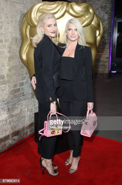 Pixie Lott and CharlieAnn Lott attend the BAFTA Children's awards at The Roundhouse on November 26 2017 in London England