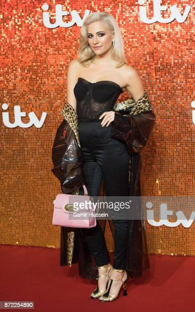 Pixie Lott arriving at the ITV Gala held at the London Palladium on November 9 2017 in London England