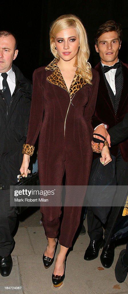 Pixie Lott attending the Attitude Magazine Awards on October 15, 2013 in London, England.