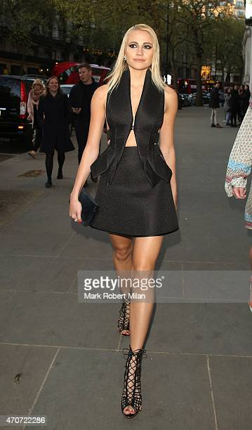 Pixie Lott attending the Notion magazine issue launch party at STK on April 22 2015 in London England