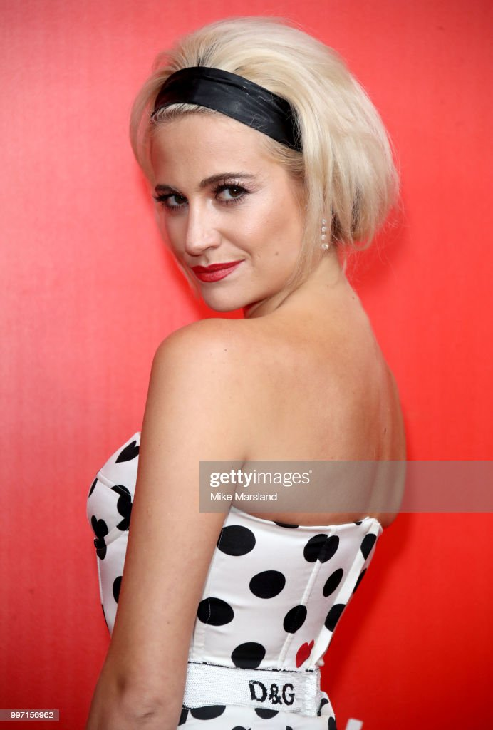 Pixie Lott attends a photocall to launch season 2 of 'The Voice: Kids' at Madame Tussauds on July 12, 2018 in London, England.