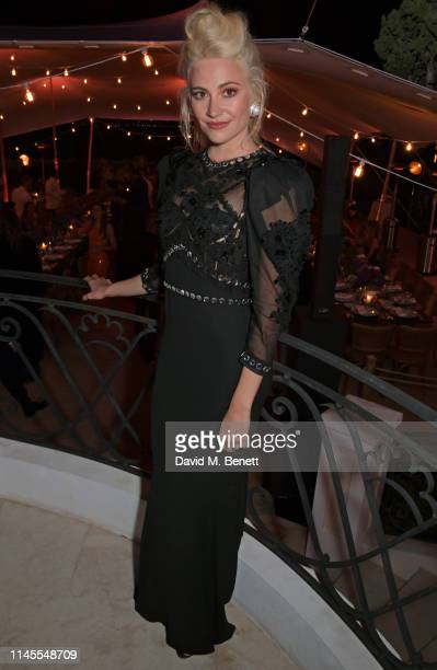 Pixie Lott attends a private dinner hosted by Alejandro Agag to celebrate the World Premiere of Formula E documentary And We Go Green during the 72nd...
