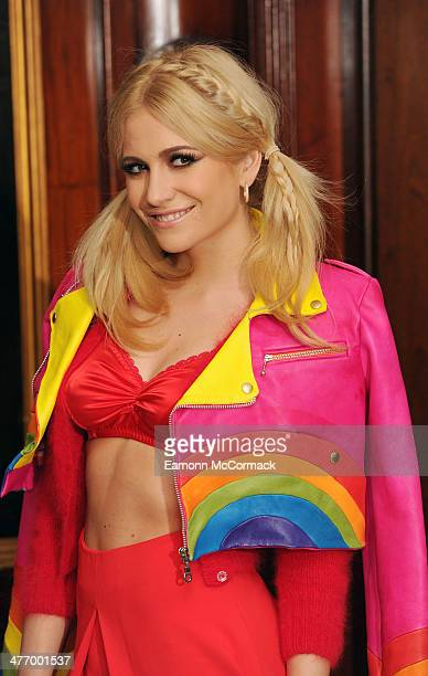 Pixie Lott attends as the London Lesbian and Gay switchboard celebrates its 40th birthday at The Waldorf Hilton Hotel on March 6 2014 in London...