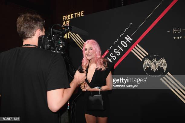 Pixie Lott attends Bacardi X The Dean Collection Present No Commission Berlin on June 29 2017 in Berlin Germany