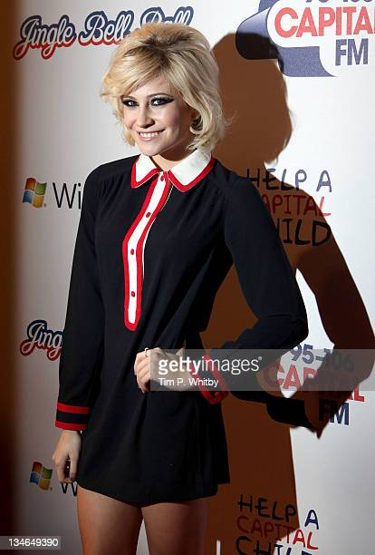 Pixie Lott attends day one of Jingle Bell Ball at O2 Arena on December 3 2011 in London England