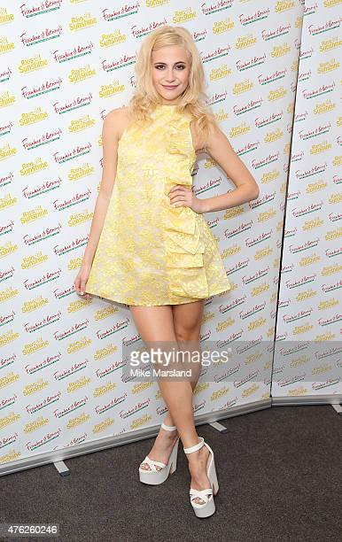 Pixie Lott attends Frankie And Benny's Rays Of Sunshine Concert at Royal Albert Hall on June 7 2015 in London England