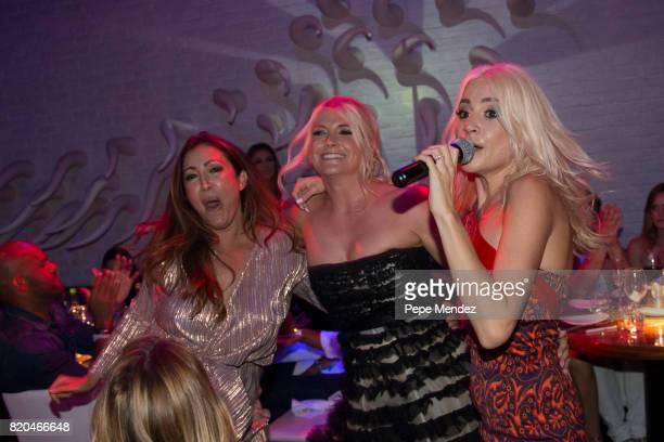 Pixie Lott attends Global Gift Gala Party on July 21 2017 in Ibiza Spain