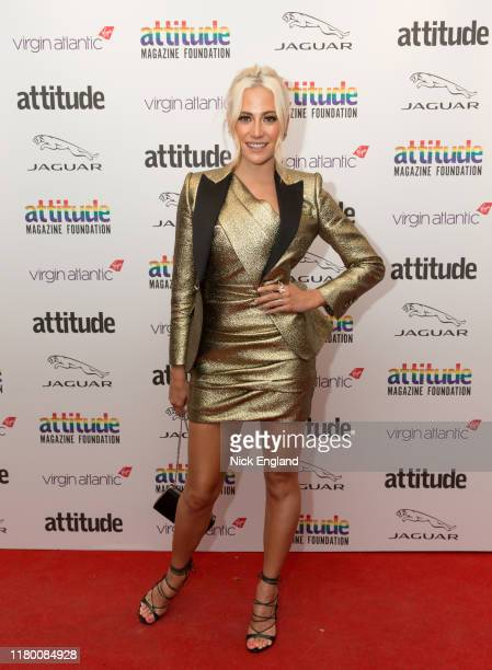 Pixie Lott attends the Attitude Awards 2019 at The Roundhouse on October 09, 2019 in London, England.