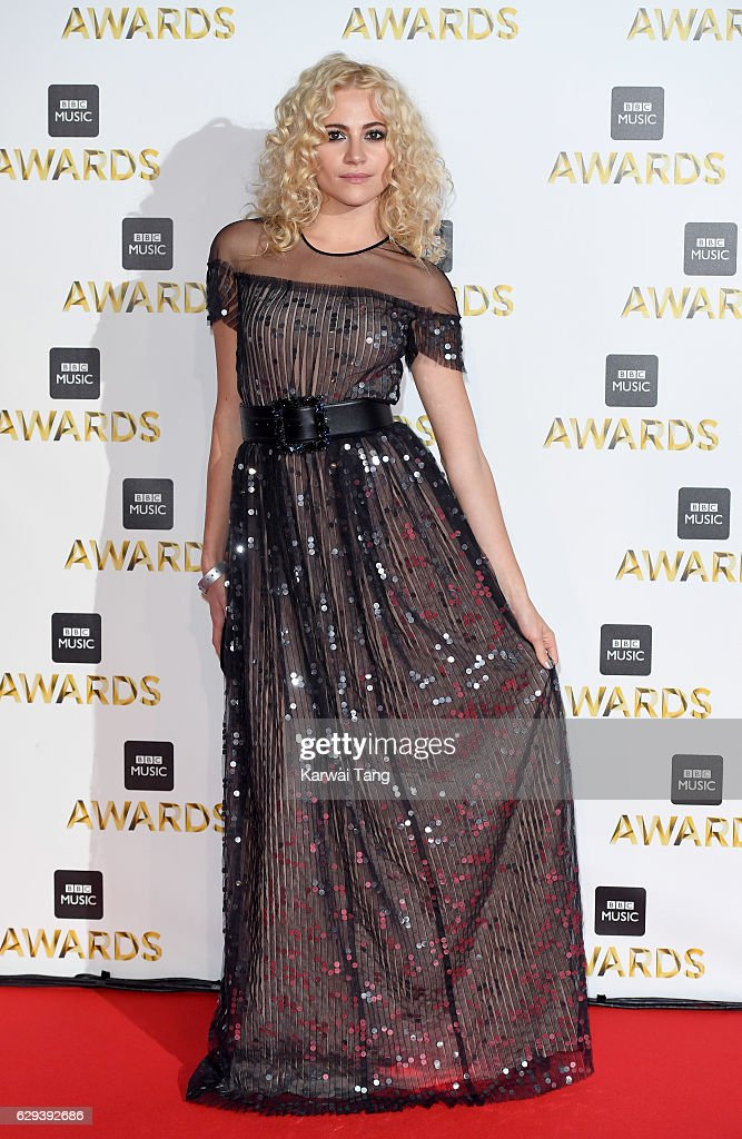 Pixie Lott attends the BBC Music Awards at ExCel on December 12, 2016 in London, England.