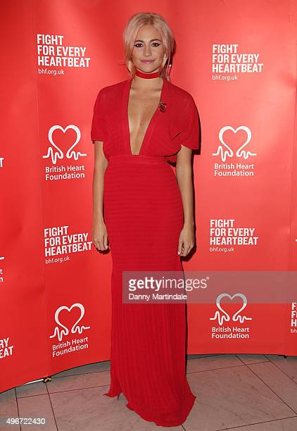 Pixie Lott attends the British Heart Foundation's Tunnel of Love fundraiser at Victoria Albert Museum on November 11 2015 in London England