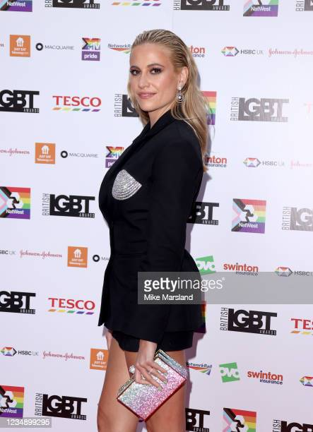 Pixie Lott attends the British LGBT Awards 2021 at The Brewery on August 27, 2021 in London, England.