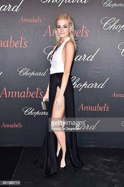 Pixie Lott attends the Chopard Gent's Party at Annabel's in Cannes during the 69th Cannes Film Festival on May 14 2016 in Cannes France