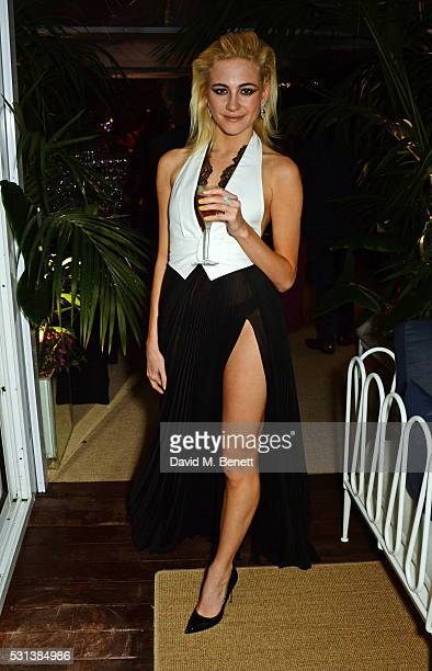 Pixie Lott attends the Chopard x Annabel's Cannes party on May 14 2016 in Cannes France