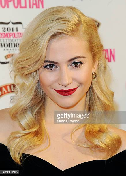 Pixie Lott attends the Cosmopolitan Ultimate Women of the Year Awards at One Mayfair on December 3 2014 in London England
