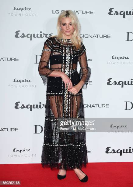 Pixie Lott attends the Esquire Townhouse with Dior party at No 11 Carlton House Terrace on October 11 2017 in London England